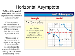 4 horizontal asymptote