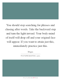 You Should Stop Searching For Phrases And Chasing After