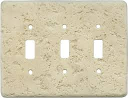 3 Light Switch Cover Plate Stonique Mocha Wall Plates Outlet Covers Craft Ideas