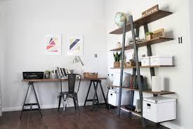 mid century modern office. a midcentury modern family home west elm mid century office