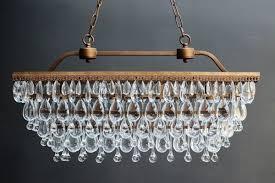 stunning crystal droplets chandelier