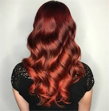 ruby red colormelt with wella and pravana