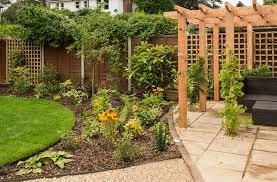 ... Poole The same corner of the garden once we had finished work -  Sandbanks, Poole