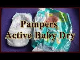 <b>Подгузники Pampers Active Baby Dry</b> 4. Отзыв - YouTube