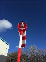 Windsock Pole Lights Helideck Lights Lighted Windsock For Offshore