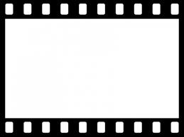 フィルム風のフレーム飾り枠イラスト 無料イラスト かわいいフリー素材