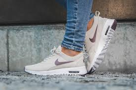 Light Grey Womens Nikes The Nike Air Max Thea Taupe Grey Is Now Available