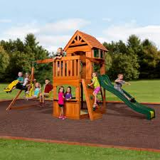 backyard discovery atlantic wooden swing set 3 12 years