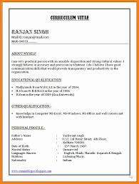 Resume Formats In Word Beauteous Cv Format In Word Document Resume Format Word Elegant Resume Sample