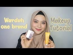 wardah one brand makeup tutorial review 2018 rahmatika putri you