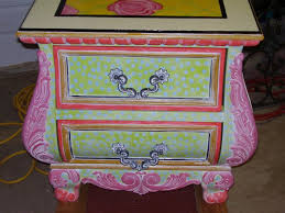 whimsical painted furniturePainted Furniture Ideas Colorful Whimsical Online Furnitures On