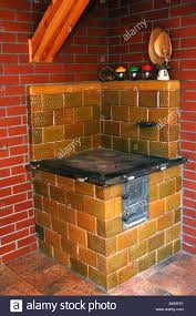 Old Tiled Stove Stock Photo 2785760 Alamy