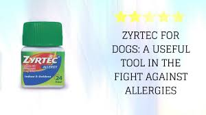 zyrtec for dogs a useful tool in the fight against allergies