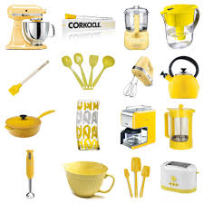 Yellow Kitchen Theme