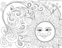 Large Coloring Pages For Adults At Getcoloringscom Free Printable