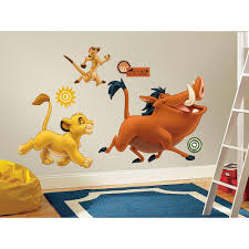 the lion king l and stick giant wall