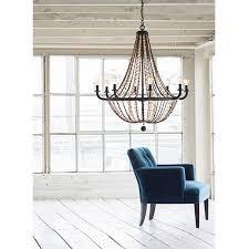 hamlet vintage bronze eight light chandelier