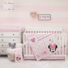 love to love minnie mouse 3 piece crib