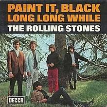paint it black paint it black