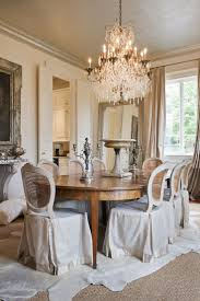 love the dining room love the chair covers