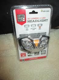 Surebilt Led Light Upc 052948261654 Surebilt 6led 30lumens 50ft Headlight