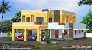 4 Storey House Design With Rooftop Flat Roof House Design 4 Bedroom Flat Roof House Plans