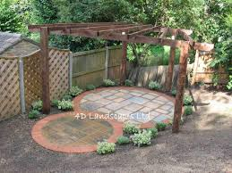 Small Picture Gorgeous circular patio with pergola from 4D Landscape Ltd