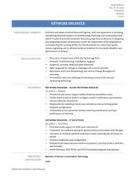 network engineer resume templates samples and job descriptions network engineer resume