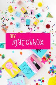 diy matchbox wedding favors