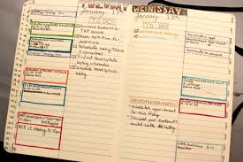 Daily Journal Planner How I Use My Daily Planner Bullet Journal