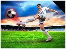Football Powerpoint Template Football PowerPoint Template PPT Slide Football PPT Backgrounds 21
