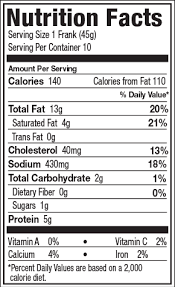 nutrition facts see all