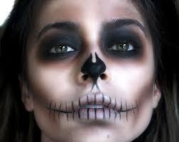 9 shadow skeleton makeup