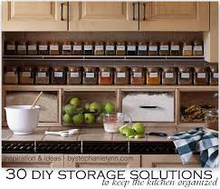 Kitchen Counter Storage 30 Diy Storage Solutions To Keep The Kitchen Organized Saturday