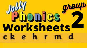 Found worksheet you are looking for? Jolly Phonics Phase 2 Worksheets C K E H D R M Ukg Lkg Toddler Playgroup Kindergarten Youtube