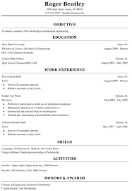 Freshman College Student Resume Sample Cover Latter It