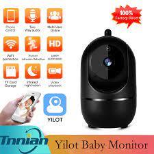 Yilot Mini Camera PTZ 1080P Trong Nhà Tự Động Theo Dõi Camera IP Thông Minh  An Ninh Nhà Giám Sát Video Con Người Phát Hiện Chuyển Động Camera Surveillance  Cameras