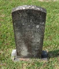 """Anna Dale """"Becky"""" Sims (1929-1943) - Find A Grave Memorial"""