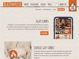 Blaze Pizza | Gift Card Balance Check | Balance Enquiry, Links ...