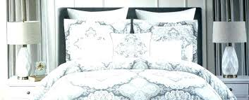 ruffled full queen duvet cover set grey white damask pink cynthia rowley comforter decoration lights