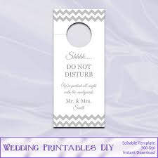 wedding door hanger template. Editable Door Hanger For My Office/ Studio! Wedding Template H