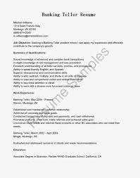 Resume Samples Banking Teller Resume Sample Sample Bank Teller
