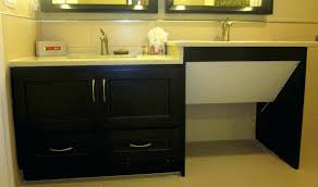 wheelchair accessible bathroom sinks. Wheelchair Accessible Bath Vanities \u2013 Chuckscorner Intended For Handicap Bathroom Sinks N