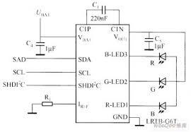 rgb led driver circuit diagram rgb image wiring rgb led controller diagram diagram on rgb led driver circuit diagram