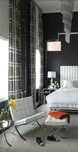 I Wonder About Painting The Wall Your Couch Sits On, Black. White Bedroom  Decor