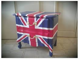 british flag furniture. British Flag Furniture RESERVED FOR MICHAEL Vintage Refurbished Hand Painted Union Jack Nightstand End I