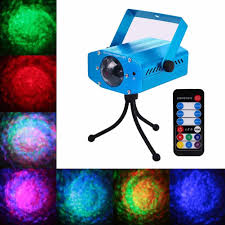 Ocean Lighting Returns Lumiparty Remote Rgb Laser Projector Led Water Wave Ripple