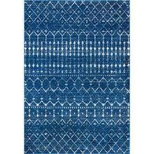 moroccan blythe blue 5 ft x 7 ft 5 in rug