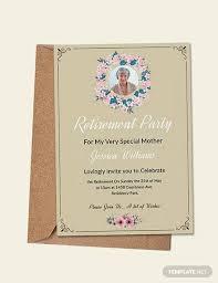 Retirement Invitations Free Free 10 Sample Retirement Invitations In Illustrator Ms