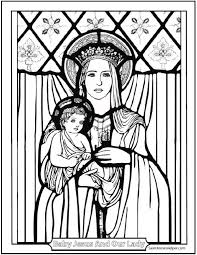 Small Picture 12 Mothers Day Coloring Pages Honor Mary And The Holy Family